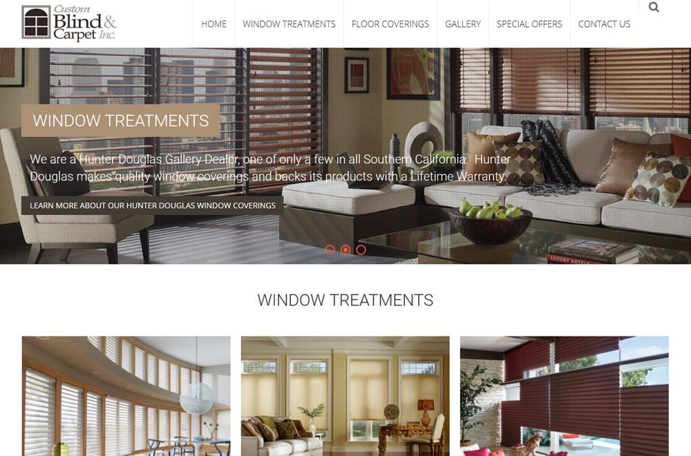 Custom Blind & Carpet Co.